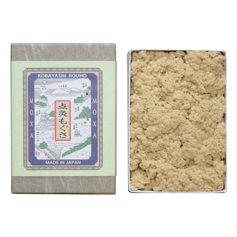 小林老铺米粒灸精品艾绒高级艾绒麦粒灸艾绒纸盒装